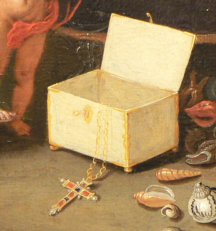 Croix empierrée renaissance, Jan Kessel l'Ancien.