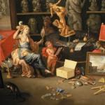 Allégorie de la vue, Jan Kessel l'Ancien.