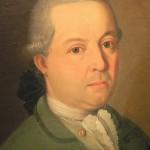 Portrait d'homme, détail.