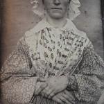 Portrait de Marie Grand-Bonnet, daguerréotype, E. Le Boeuf, vers 1840, coll. part.
