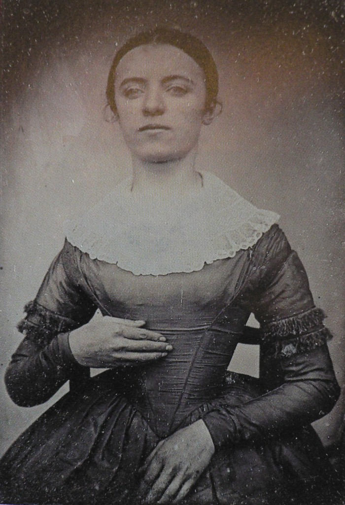 Portrait de la fille du photographe, vers 1840, Eugène Le Boeuf, Coll. Part.