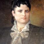 Portrait de femme par Louis Delfau.