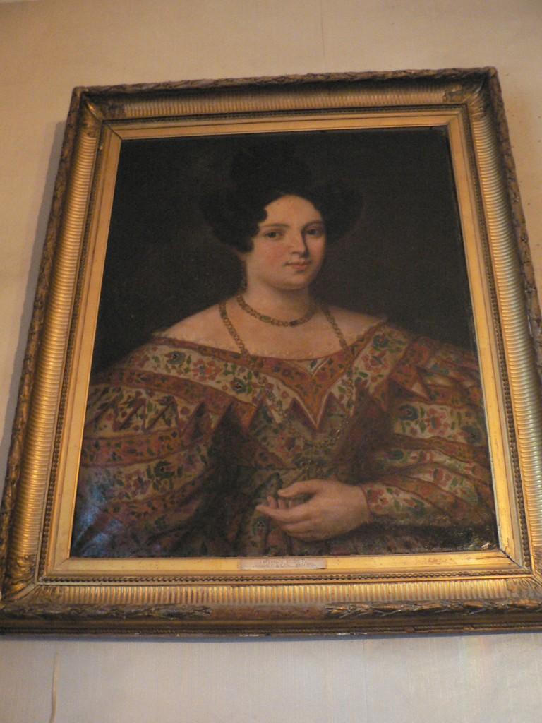 Portrait d'Espérance Buget, Perpignan, vers 1830.