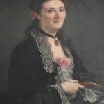 Charles Muller (1815-1892), Portrait de la comtesse de Lazerme.