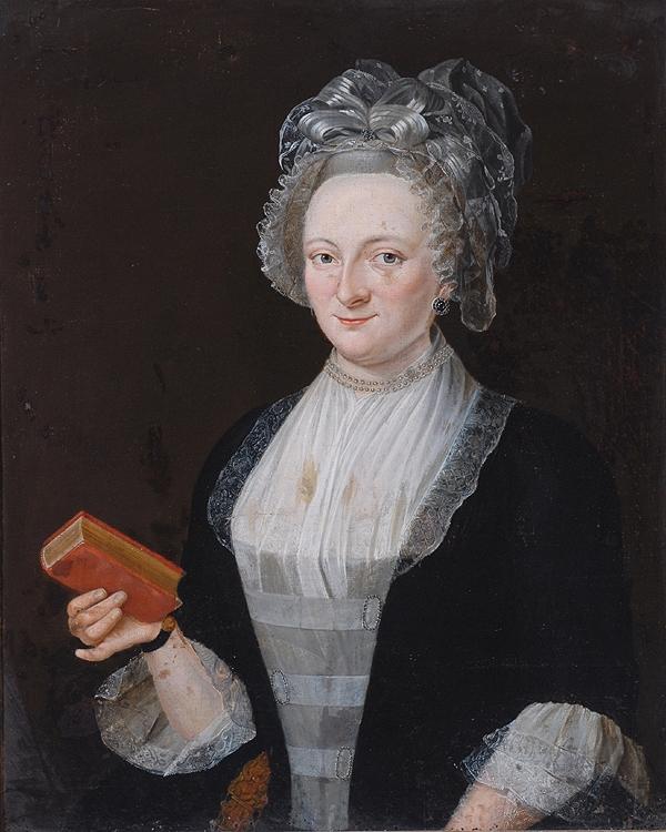 Portrait de femme, 1749, Bowes museum.