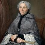 Jacques André Joseph Aved, portrait de dame en gris, Musée de Nantes.
