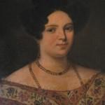 Portrait d'Espérance Delon, née Buget.
