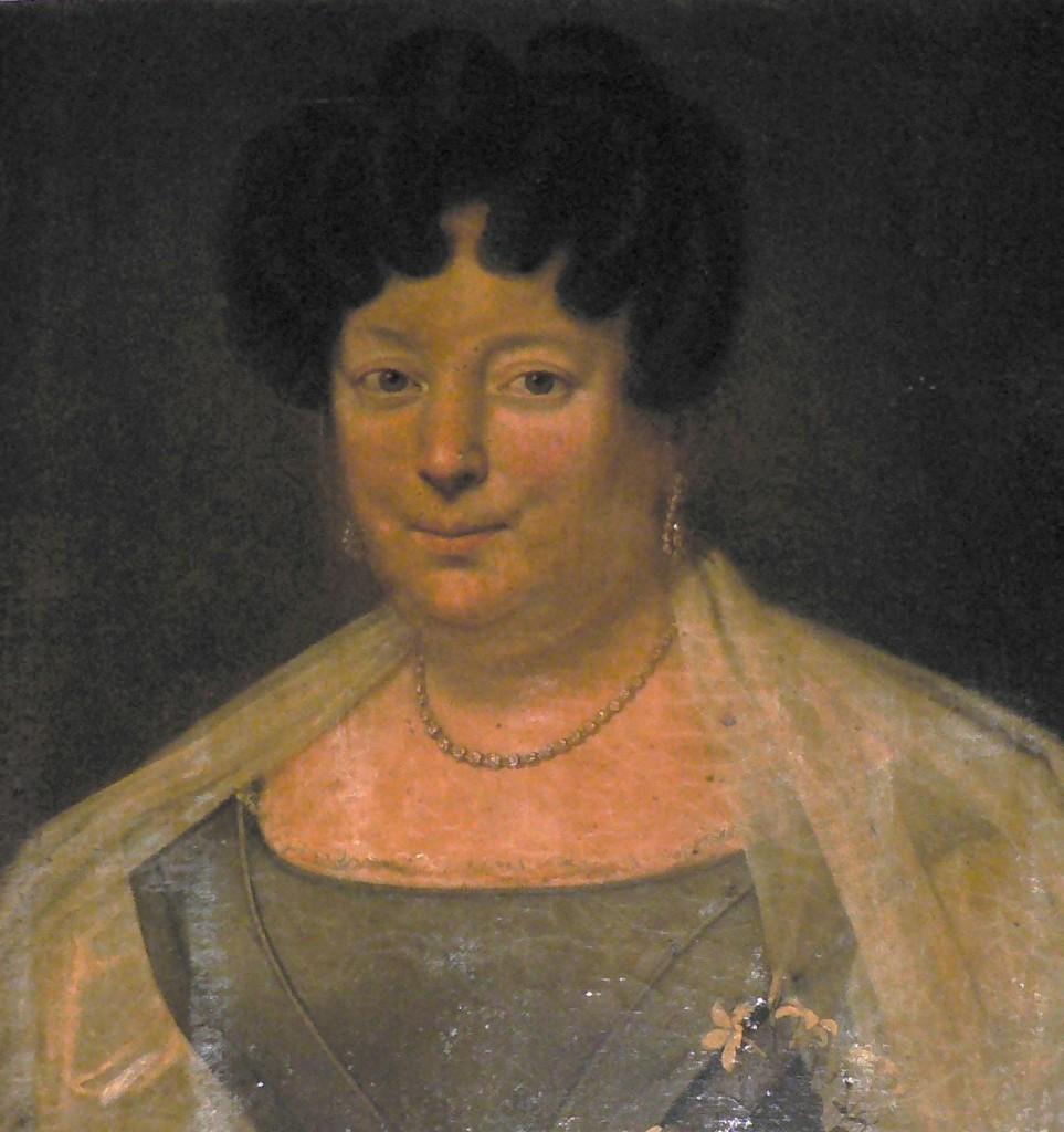 Portrait de Victoire de Selva de Savalette, Perpignan, vers 1830.