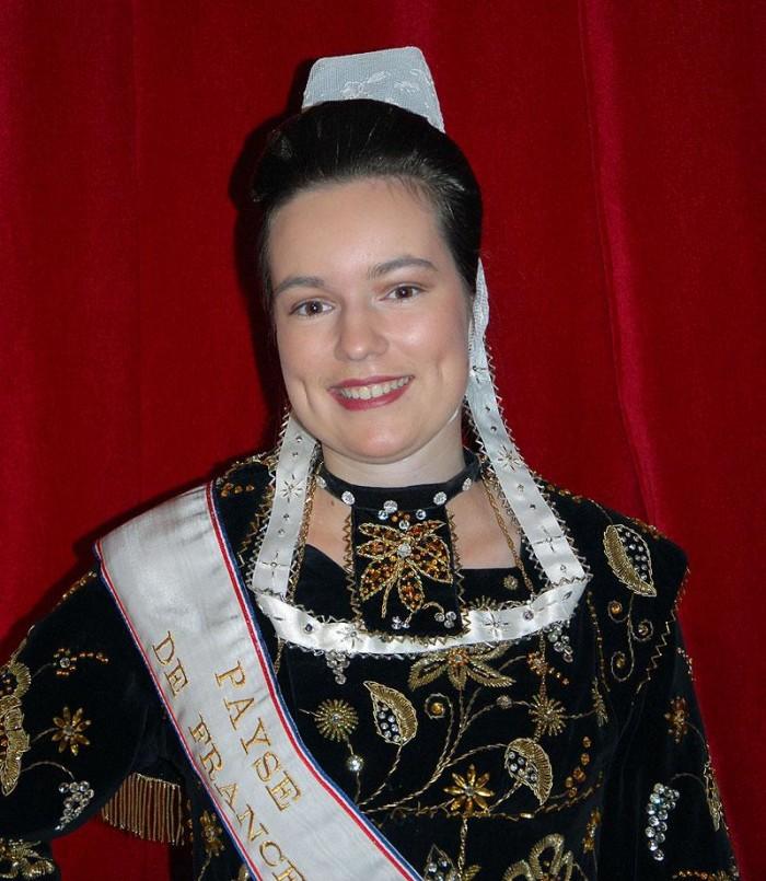 Mlle Heloise Douguet, 66e Payse de France-