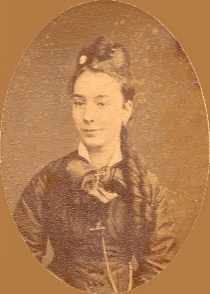 Portrait de Catalane, Perpignan, cliché Provost, après 1876.