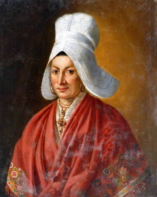 Portrait de Normande, Bowes museum.