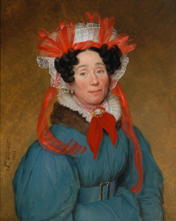 Portrait de femme, Saint-Omer, 1833, Bowes Museum.