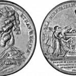 Médaille des douze mariages, Perpignan, 1781.