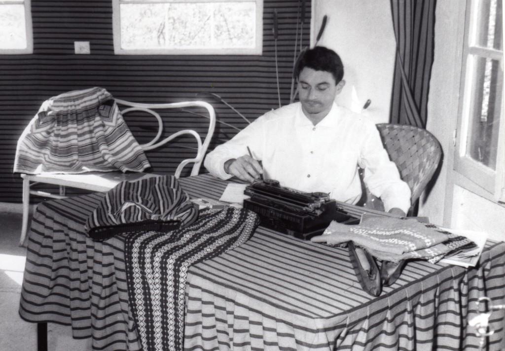 Portrait de Pierre Muchart en 1963.