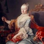 Portrait de Maria Theresia d'Autriche par Martin van Meylens (1759)