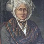 Attribué à Raspal, portrait de femme.