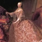 Martin van Meytens: Marie Thérèse d'Autriche.