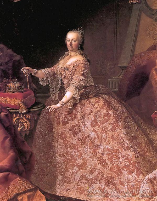 Martin van Meytens: Marie Thérèse d'Autriche. | Institut du Grenat
