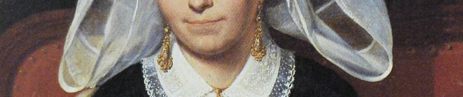 Portrait de grisette, Niort.