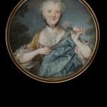 André Lefevre d'Orgeval, miniature, coll Tansey.