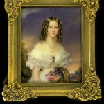 Anreiter, portrait de jeune femme, coll. Tansey.