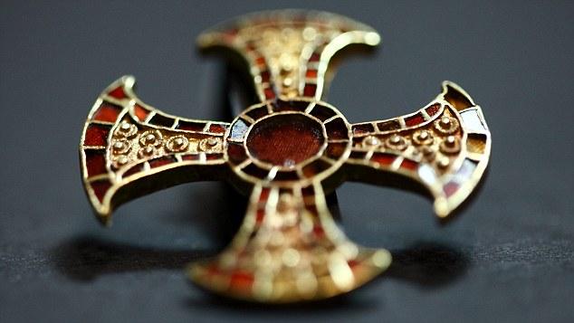 Croix de Trumpington Meadows, vers 650 680 après J.C.
