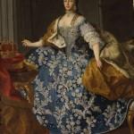 Martin Van Meytens, portrait de Maria Josepha de Habsbourg.