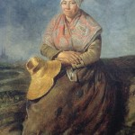 Portrait de paysanne languedocienne, Paul Soulié (1807-1862), Musée des Beaux Arts de Carcassonne.