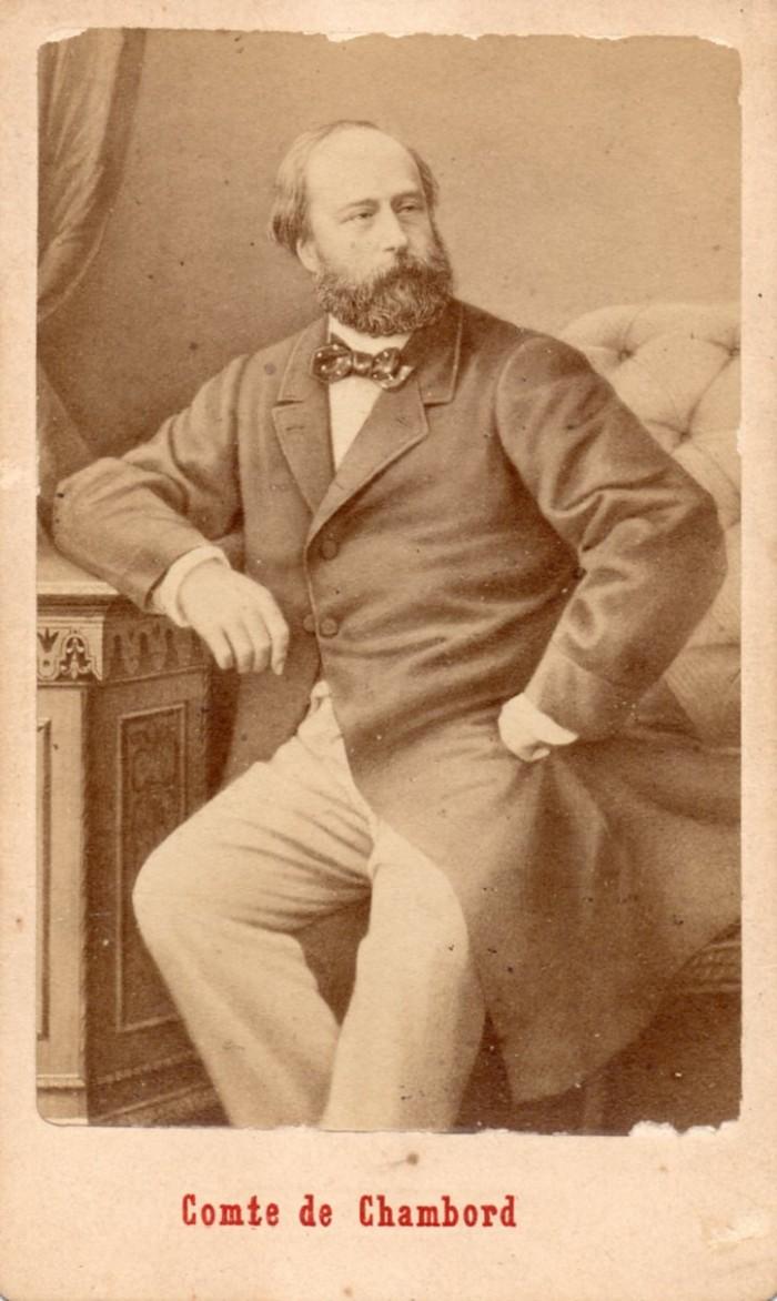 Le Comte de Chambord, cliché E.Neurdein, Paris.