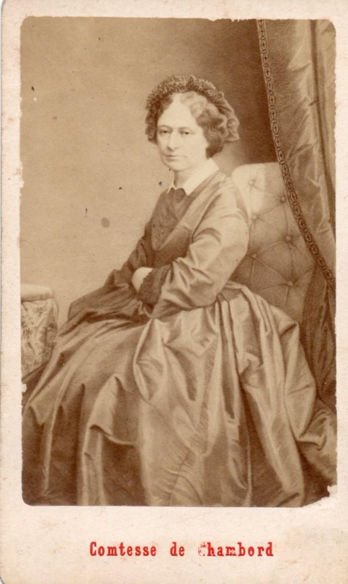 Portrait de la Comtesse de Chambord.