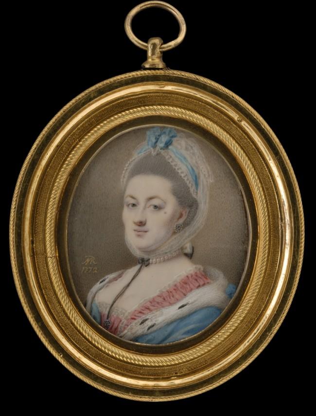 Joseph Marinkelle, portrait de femme, Coll Tansey.