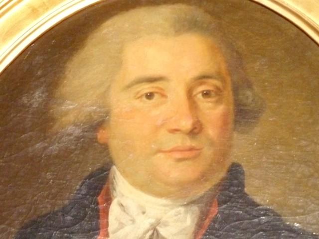 Portrait de Paul Estève (1749-1807) par Pierre Maurin, collection particulière.