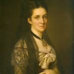 Portrait de Pulszky Polixena, 1878.