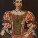 Portrait d'Elisabeth Thoma, Slovaquie, XVIIIe s.