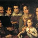 Portrait de famille, Lavinia Fontana (1.552 - 1.614).