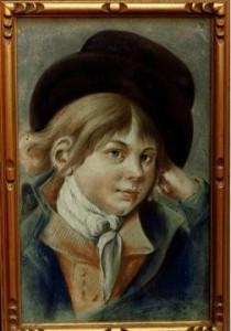 Portrait d'enfant, Jacques Gamelin, musée de Carcassonne.