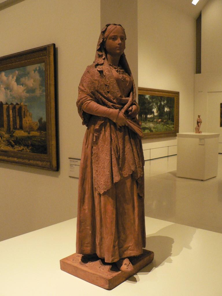 Costume de Catalane, Musée national d'Art de Catalogne, Barcelone