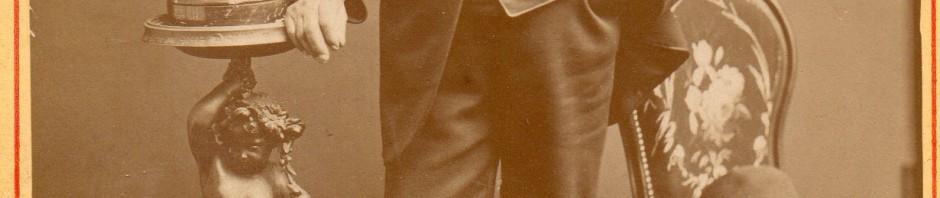Perpignanais fier de sa récompense, vers 1880, photo Provost.