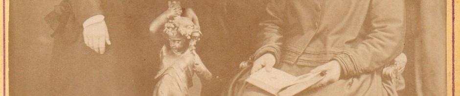 Portrait de famille catalane, Perpignan, vers 1880.