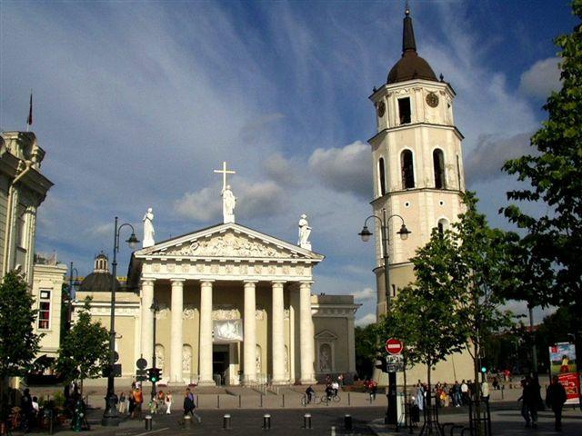 Vilnius, la cathédrale.