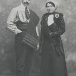 Couple de Roussillonnais, 1912.