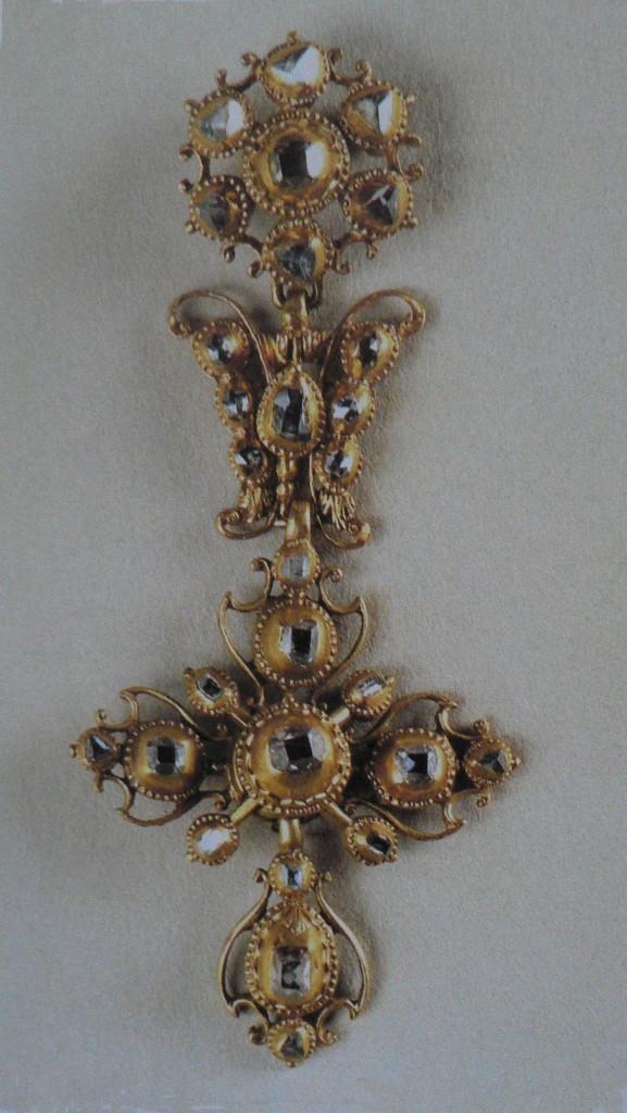 Croix portugaise du Musée des Arts anciens de Lisbonne, 17e s.