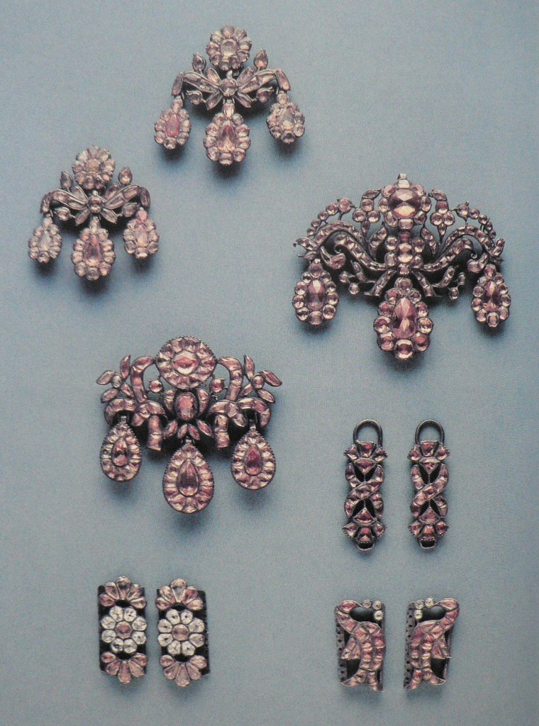 Broches et girandoles, 1760-1770, Portugal