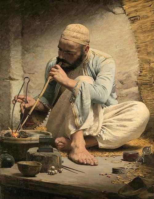 Charles Spargue-Pearce, le bijoutier arabe.