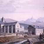 Ermitage de Font Romeu, A.Guiraud, vers 1860