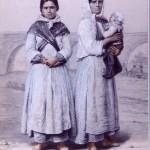 femmes gitanes campées sous les ponts, A.Guiraud vers 1860