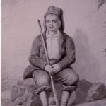 petit catalan, guide de montagne, A.Guiraud, vers 1860