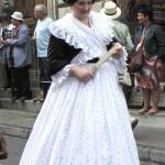 Arlésienne en costume du milieu du XIXe s.