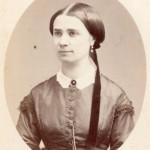 Portrait de jeune femme, photo Ferret, Nice.