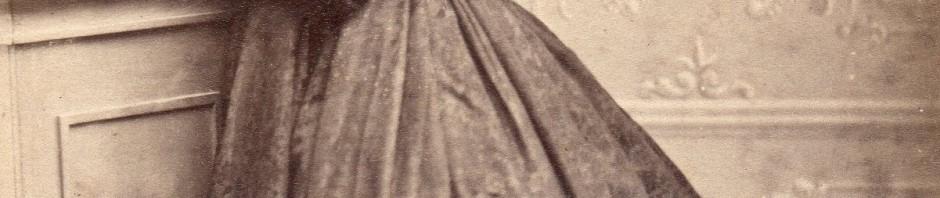 Portrait de femme, après 1862, Montpellier, photo Huguet-Moline.
